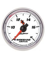 "2-1/16"" WIDEBAND, AIR/FUEL RATIO, ANALOG, 8:1-18:1 AFR, C2"