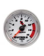 "2-1/16"" NITROUS PRESSURE, 0-1600 PSI, STEPPER MOTOR, C2"