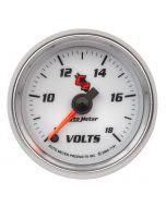 """2-1/16"""" VOLTMETER, 8-18V, DIGITAL STEPPER MOTOR, C2"""