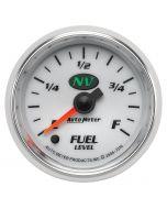 "2-1/16"" FUEL LEVEL, PROGRAMMABLE 0-280 Ω, STEPPER MOTOR, NV"