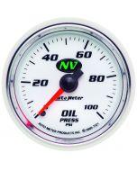 "2-1/16"" OIL PRESSURE, 0-100 PSI, MECHANICAL, NV"