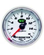 "2-1/16"" PYROMETER, 0-1600 °F, STEPPER MOTOR, NV"