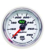 "2-1/16"" OIL TEMPERATURE, 140-280 °F, STEPPER MOTOR, NV"