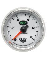 """2-1/16"""" FUEL PRESSURE, 0-15 PSI, STEPPER MOTOR, NV"""
