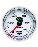 """2-1/16"""" FUEL PRESSURE, 0-100 PSI, STEPPER MOTOR, NV"""