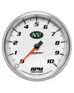 """5"""" IN-DASH TACHOMETER, 0-10,000 RPM, NV"""
