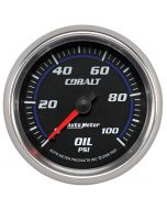 "2-5/8"" OIL PRESSURE, 0-100 PSI, MECHANICAL, COBALT"