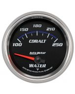 "2-5/8"" WATER TEMPERATURE, 100-250 °F, AIR-CORE, COBALT"