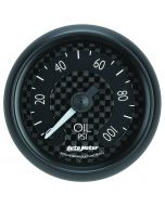"2-1/16"" OIL PRESSURE, 0-100 PSI, MECHANICAL, GT"