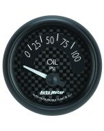 "2-1/16"" OIL PRESSURE, 0-100 PSI, AIR-CORE, GT"