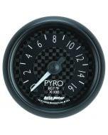 "2-1/16"" PYROMETER, 0-1600 °F, STEPPER MOTOR, GT"
