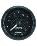 """2-1/16"""" VOLTMETER, 8-18V, DIGITAL STEPPER MOTOR, GT"""