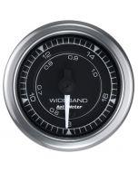 """2-1/16"""" WIDEBAND AIR/FUEL RATIO, ANALOG, 8:1-18:1 AFR, STEPPER MOTOR, CHRONO"""