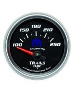 "2-1/16"" TRANSMISSION TEMPERATURE, 100-250 °F, AIR-CORE, BLACK, MOPAR"