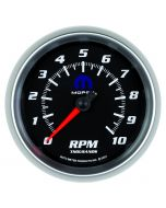 "3-3/8"" IN-DASH TACHOMETER, 0-10,000 RPM, BLACK, MOPAR"