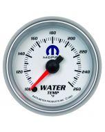 "2-1/16"" WATER TEMPERATURE, 100-260 °F, STEPPER MOTOR, WHITE, MOPAR"
