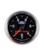"2-1/16"" OIL PRESSURE, 0-100 PSI, STEPPER MOTOR, FORD RACING"