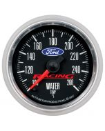 """2-1/16"""" WATER TEMPERATURE, 100-260 °F, STEPPER MOTOR, FORD RACING"""