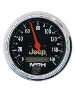"3-3/8"" SPEEDOMETER, 0-160 MPH, ELECTRIC, JEEP"