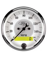 "3-1/8"" SPEEDOMETER, 0-160 MPH, ELECTRIC, FORD MASTERPIECE"
