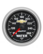 "2-1/16"" WATER TEMP, 100-260 °F, DIGITAL STEPPER MOTOR, CHEVY GOLD BOWTIE"
