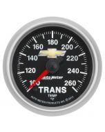 "2-1/16"" TRANS TEMP, 100-260 °F, DIGITAL STEPPER MOTOR, CHEVY GOLD BOWTIE"