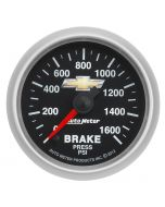"BRAKE PRESS, 2-1/16"", 1600PSI, STEPPER MOTOR, STEPPER MOTOR, Chevy Gold Bowtie"
