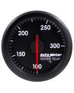 """2-1/16"""" WATER TEMP, 100-300`F, AIR-CORE, AIRDRIVE, BLACK"""
