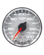 "2-1/16"" TRANSMISSION TEMPERATURE, 100-300 °F, STEPPER MOTOR, SPEK-PRO, SILVER DIAL, CHROME BEZEL, CLEAR LENS"