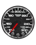 "2-1/16"" TRANSMISSION TEMPERATURE, 100-300 °F, STEPPER MOTOR, SPEK-PRO, BLACK DIAL, CHROME BEZEL, CLEAR LENS"