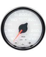 "2-1/16"" WATER TEMPERATURE, 100-300 °F, STEPPER MOTOR, SPEK-PRO, WHITE DIAL, BLACK BEZEL, CLEAR LENS"