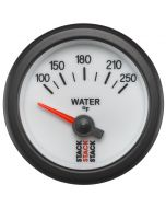 """WATER TEMP, ELECTRIC, 52MM, WHT, 100-250 °F, AIR-CORE, 1/8"""" NPTF"""