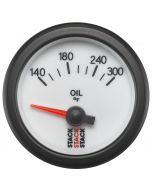 "OIL TEMP, ELECTRIC, 52MM, WHT, 140-300 °F, AIR-CORE, 1/8"" NPTF"