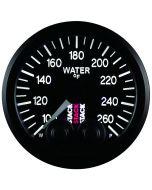 "WATER TEMP, PRO-CONTROL, 52MM, BLK, 100-260 °F, STEPPER MOTOR, 1/8"" NPTF MALE"