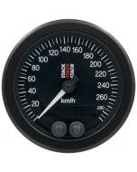 88MM SPEEDOMETER, GPS, 0-290 KM/H, STACK BLK