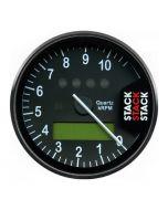 DISPLAY TACHOMETER, BLACK, 0-10.75K RPM