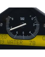 RACE DISPLAY, PRE-CONFIGURED, BLACK, 0-3-8K RPM INVERT (PSI, DEG. F, MPH)