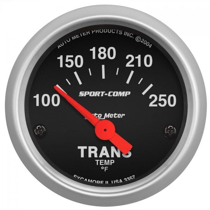 AU3451 Auto Meter Sport-Comp 2-5//8 Trans Temp Gauge 140-280°F