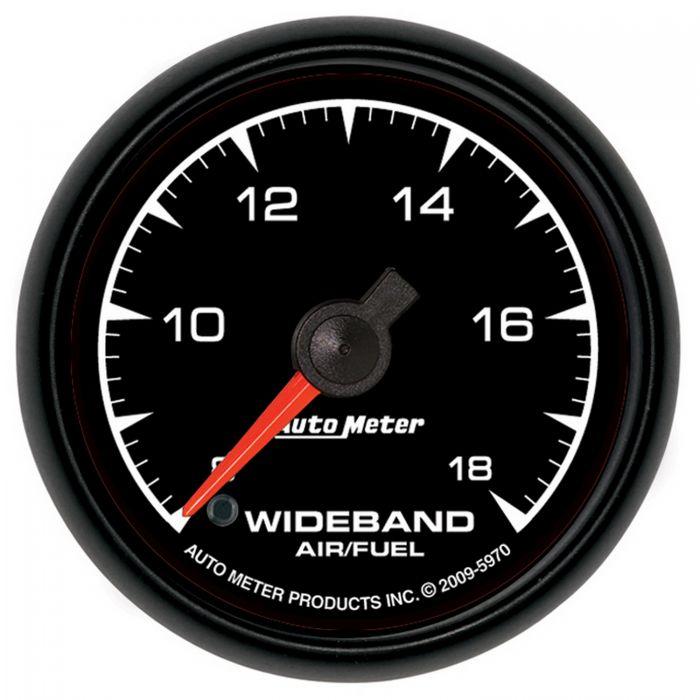 Analog Stpr Mtr 2 5//8 Marine Silvr Air//Fuel Ratio-Wideband AutoMeter 200870-33 Gauge 8:1-18:1