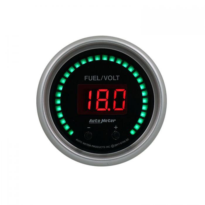 Phantom Elite Digital AutoMeter 6798-PH Gauge 16K RPM in-Dash Tachometer 3 3//8
