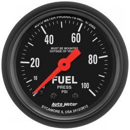 Auto Meter Auto Gage 1-1//2 Fuel Pressure Gauge 0-100PSI AU2174