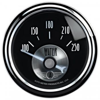 """2-1/16"""" WATER TEMPERATURE, 100-250 °F, AIR-CORE, PRESTIGE BLACK DIAMOND"""