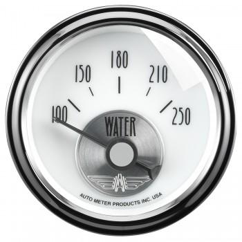 """2-1/16"""" WATER TEMPERATURE, 100-250 °F, AIR-CORE, PRESTIGE PEARL"""