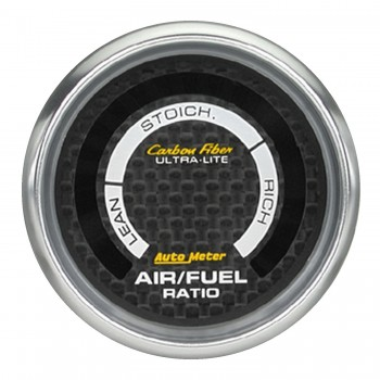 "2-1/16"" NARROWBAND AIR/FUEL RATIO, LEAN-RICH, CARBON FIBER"