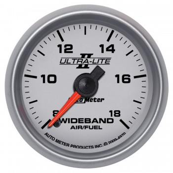 "2-1/16"" WIDEBAND AIR/FUEL RATIO, ANALOG, 8:1-18:1 AFR, ULTRA-LITE II"