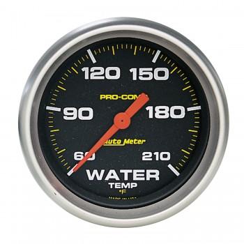 "2-5/8"" WATER TEMPERATURE, 60-210 °F, STEPPER MOTOR, PRO-COMP"