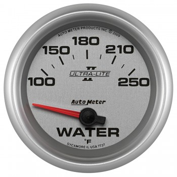 """2-5/8"""" WATER TEMPERATURE, 100-250 °F, AIR-CORE, ULTRA-LITE II"""