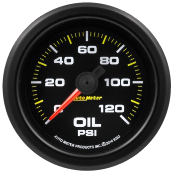 Waterproof Oil Pressure Gauge