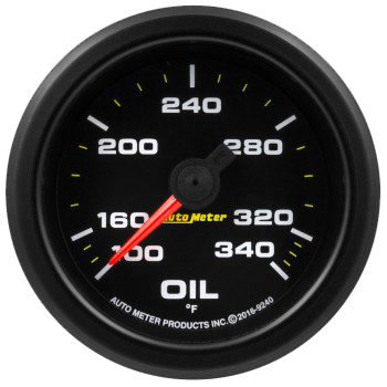Waterproof Oil Temp Gauge