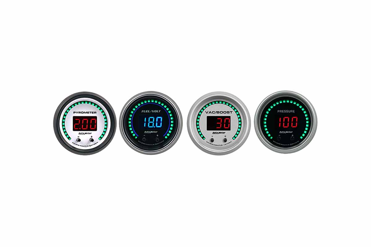 Elite digital two-channel gauges